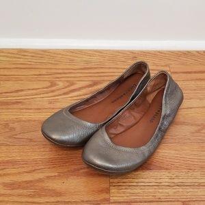 Lucky Brand bronze ballet flats size 8.5